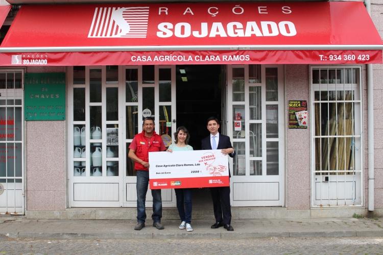 """Casa Agrícola Clara Ramos vence campanha """"Vendas que Crescem"""""""