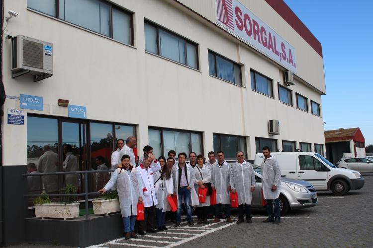 SORGAL recebe visita de clientes