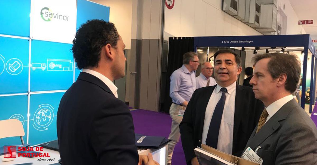 AQUASOJA e SAVINOR UTS marcam presença na Seafood Expo Global 2018